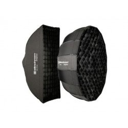Elinchrom kit Snaplux 35 x 75 cm + Octabox 60 cm + diffuseurs + grilles + sacs sans speedring Softbox Flash