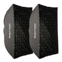 Elinchrom Kit Boîtes à lumière Snaplux Rectabox 55x75cm Softbox