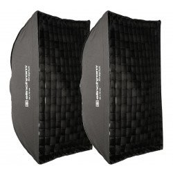 Elinchrom Kit Boîtes à lumière Snaplux Rectabox 55x75cm Softbox Flash