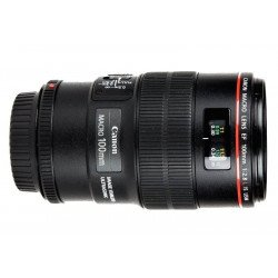 Canon 100 mm f/2,8 L Macro IS USM - Objectif Photo