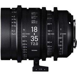 Sigma 18-35mm T2 Cine (Canon EF métric) – Objectif Zoom Cinéma Monture EF