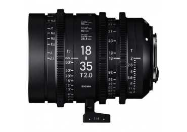 Sigma 50-100MM T2 F/CE Cine High Speed Zoom Line Canon EF Metric Monture Canon (EF)