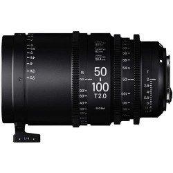 Sigma 50-100mm T2 (Canon EF métric) – Objectif Zoom Cinéma Monture EF
