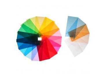 Filtre gelatine pour spot et panneau led 80x100 cm Gelatine couleur
