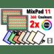 Kit 2x Nanlite MixPad 11 - Panneaux Led Couleur RGB LED RGB Color