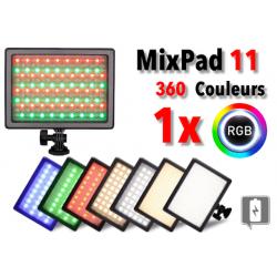 Nanlite MixPad 11 - Panneau Led Couleur RGB Eclairage Caméra