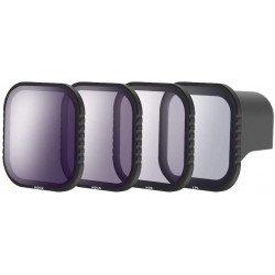 Kit 4 filtres Densité Neutre et polarisant - ND8 / ND16 / ND32 / Polarisant CPL pour GoPro Hero 8 Camera d'action