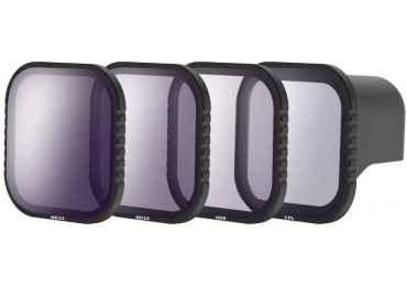 Location Kit 4 filtres Densité Neutre et polarisant - ND8 / ND16 / ND32 / Polarisant CPL pour GoPro Hero 8 Camera d'action