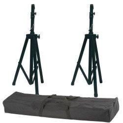 2x pieds d'enceinte + sac de transport - Innox IVA03