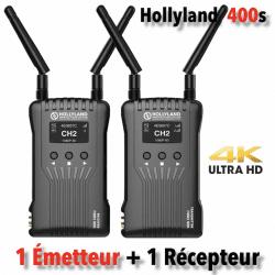 Hollyland Mars 400s - Kit Emetteur / Récepteur vidéo HF HDMI/SDI Liaison vidéo HF