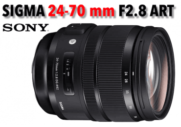 Sigma 24-70 mm F/2.8 DG DN ART - Mouture Sony (E) Standard