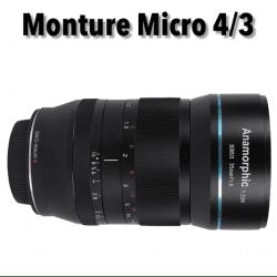 Sirui 35mm f/1.8 Anamorphic Monture Micro 4/3 Anamorphique