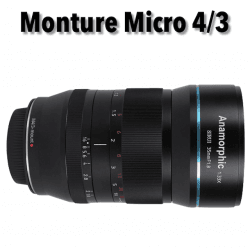 Sirui 35mm F1.8 Anamorphic Lens 1.33X (MFT-mount) Anamorphique