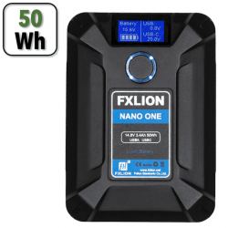 Batterie V-mount 50Wh - FXLION NANO One Accueil
