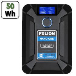 Batterie V-mount NANO 50Wh Multifonctions - FXLION Batterie V-mount / V-lock