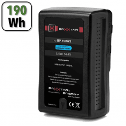 Batterie V-Mount 190Wh PRO BP-190 WS - 13200 mAh Batterie V-mount / V-lock
