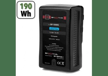 Batterie V-Mount 190Wh PRO BP-190 WS - 13200 mAh Batterie V-mount / V-lock