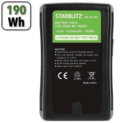 Batterie V-Mount 190Wh - Starblitz SB-VL190 Batterie V-mount / V-lock