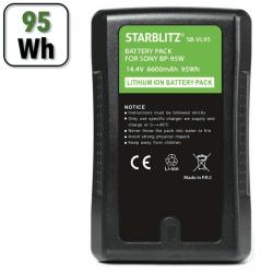 Batterie V-Mount 95Wh - Starblitz SB-VL95 Batterie V-mount / V-lock