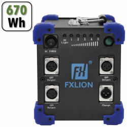 Méga Batterie FXLION 620Wh - 28V/30A/40A-48V/10A15V/8A DEVIS
