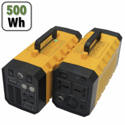 Générateur d'énergie Power Station 500 W Portable Pile & Accu