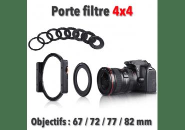 Porte Filtre objectifs 67 / 72 / 77 / 82 / + Support Filtre Photo Filtre 100x100mm Porte-Filtre