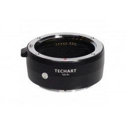 Bague Techart Pro TZC-01 - Objectif Canon (EF) vers Boitier (Z) Monture (Z)