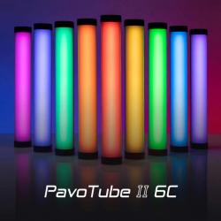1x Tubes led multi-color Nanlite Pavotube 6 W et 25 cm Tube Couleur