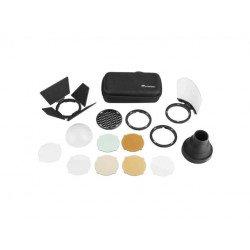 kit accessoire GODOX AK-R1 pour tête flash V1 Modeleur & diffuseur