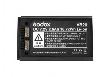 batterie Godox VB26 pour flash V1 Batterie flash autonome