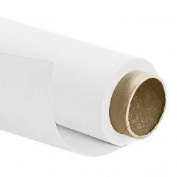 Fond papier Blanc - 2.72x11m - 150 g - Walimex Pro Color Fonds Papier