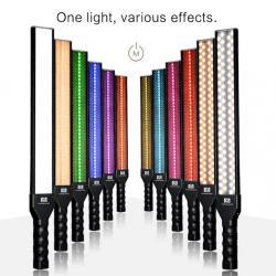 Lampe torche Led RGB - Nanlite MixWand 18 Tube Couleur