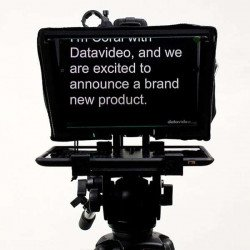 Prompteur 11 Pouces Datavidéo TP-300 - Pour tablette jusqu'à 11 pouces Ecran vidéo / Prompteur