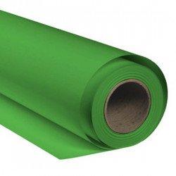 Fond de papier 1,35x 11m - Vert Chromakey - Pro Color Fonds Papier