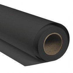 Fond photo papier Noir - 1,35x11m - Pro Color