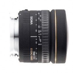 Sigma 8mm f/3,5 EX DG Fisheye- Objectif photo monture Canon