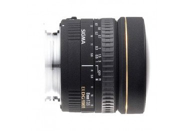 Sigma 8mm f/3,5 EX DG Fisheye - Monture Canon Fisheye