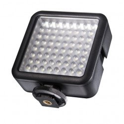 Mini lampe portable 64 LED - Walimex Pro 64 LED Minette Caméra