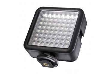 Mini lampe portable 64 LED - Walimex Pro 64 LED Eclairage Caméra