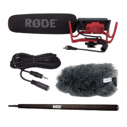 Kit Micro + Perche - Rode VideoMic Micro Canon