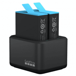 Kit 2x Batteries + chargeur double - Gopro Hero9 Batterie Gopro & Insta