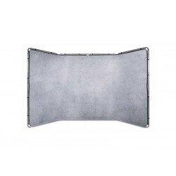 Lastolite Fond panoramique 4 m en tissu - Couleur Gris Calcaire Fond pliant