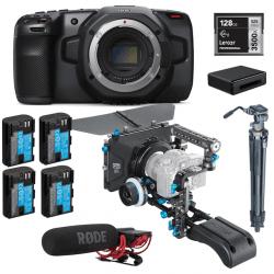 Pack Blackmagic Pocket 4K + accessoires Cinéma DEVIS