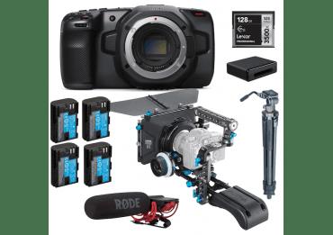 Pack Blackmagic Pocket 4K + accessoires Cinéma Pack Vidéo