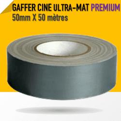 Ciné Gaff ULTRA MAT - 50mm X 50m - Gris - 8233 Gaffers & Adhesifs