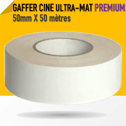 Ciné Gaff ULTRA MAT - 50mm X 50m - Blanc - 8233