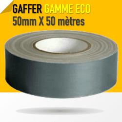 Gaffer technique Gris 1er Prix - 50mm X 50 mètres - Gris - 8224 Gaffers & Adhesifs