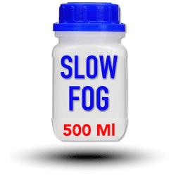Look Slow-Fog Fluid 500 ml - Liquide pour machine à fumée et à brouillard Liquide machine à fumée