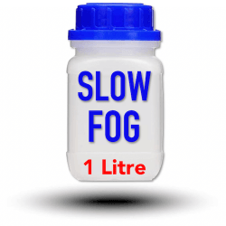 Look Slow-Fog Fluid 1 Litre - Liquide pour machine à fumée et à brouillard Liquide machine à fumée