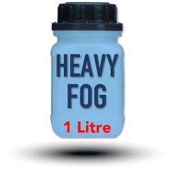Look Heavy-Fog Fluid 1 litre - Liquide pour machine à fumée et à brouillard Liquide machine à fumée